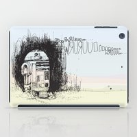 r2d2 iPad Cases featuring R2D2 by Samantha Chiusolo