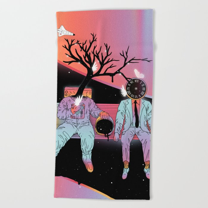 Coexistentiality (Sustaining Life) Beach Towel