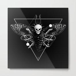 God Moth Metal Print