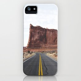 Arches National Park Road iPhone Case