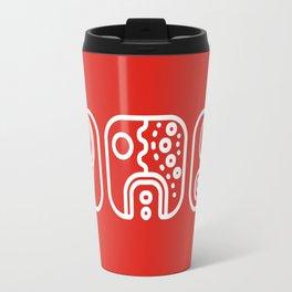 Mayan Glyphs ~ ABSTRACT Travel Mug