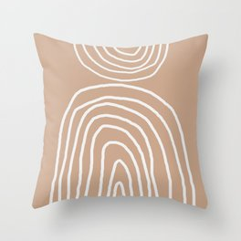 Abstract Rainbow, Throw Pillow