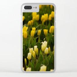 It's tulip mania! Clear iPhone Case