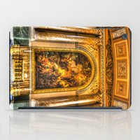 college iPad Cases featuring Royal Naval College Greenwich  by David Pyatt