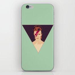 David Bowie/Aladdin Sane iPhone Skin