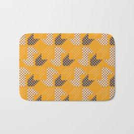 Clover&Nessie  Mandarin/Mocha Bath Mat