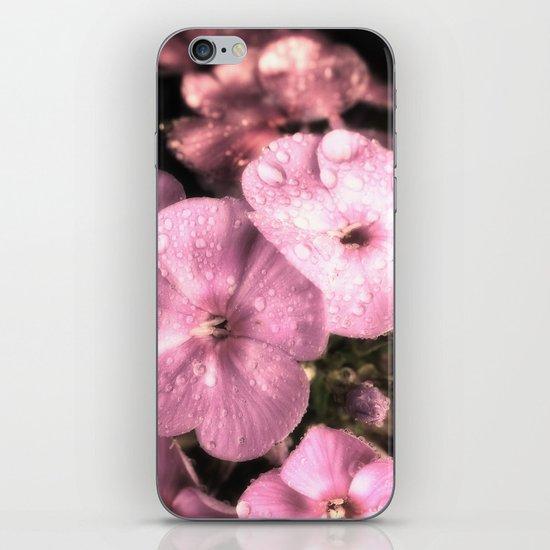 Soft rain drops iPhone & iPod Skin