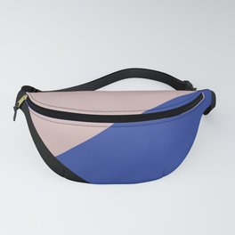 Getting Blocky Blue Fanny Pack