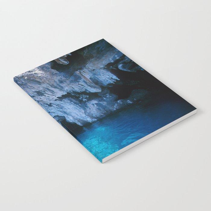 NATURE'S WONDER #5 - BLUE GROTTO (Turkey) #2 #art #society6 Notebook