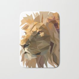 King of the jungle Bath Mat