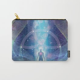 """A Spark of the Creator!"" - Trinity Carry-All Pouch"
