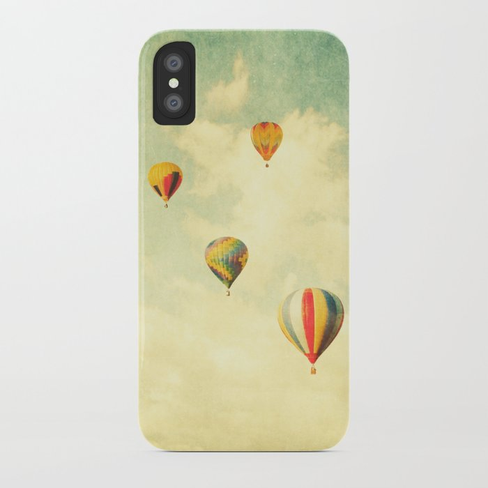 Drifting Balloons iPhone Case