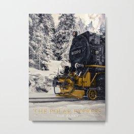The Polar Express Metal Print