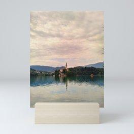 Lake Bled Fairy Tale Mini Art Print