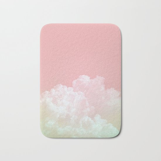 Dreamy Watermelon Sky Bath Mat