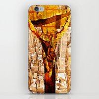 jesus iPhone & iPod Skins featuring Jesus by Ganech joe