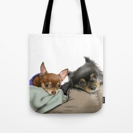 Stella And Nettie Tote Bag