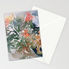 Autumn Flowers Stationery Cards