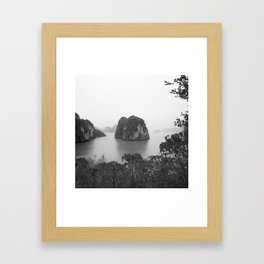Ha Long Bay Study II Framed Art Print