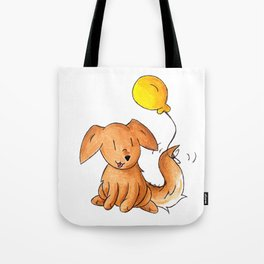 Balloon Doggy Tote Bag