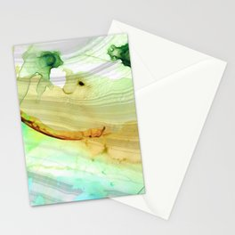 Modern Abstract Modern Art - Seeing Is Believing - Sharon Cummings Stationery Cards