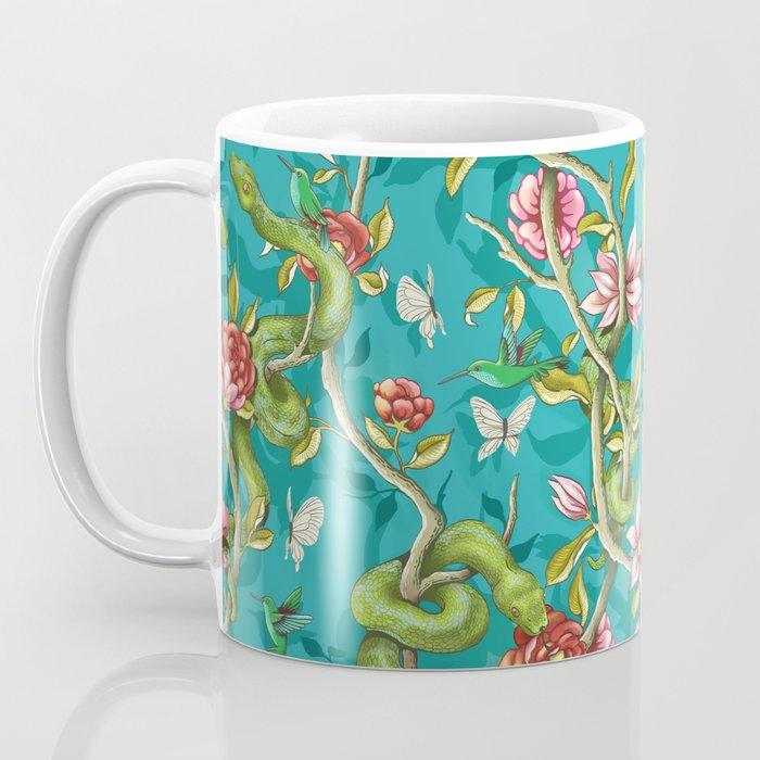 Morning Song - turquoise Coffee Mug