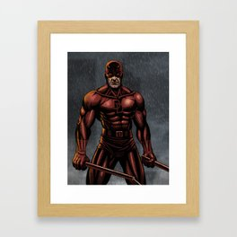 Dare Devil Framed Art Print
