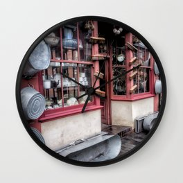 Victorian Stores Wall Clock