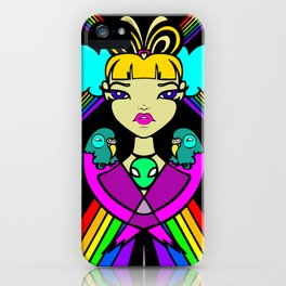 Budgie Love  iPhone Case