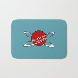 Sky Captains of Industry red logo Bath Mat