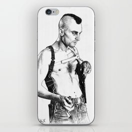Taxi driver Robert de niro iPhone Skin