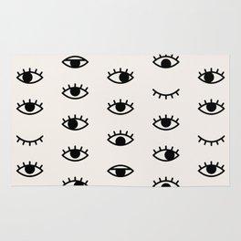 Eye Chart Rug