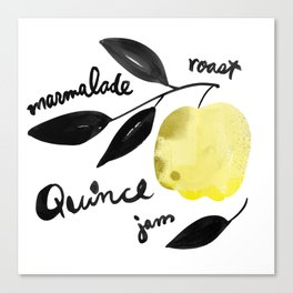Quince | 100 Days of Cookbook Spots Canvas Print