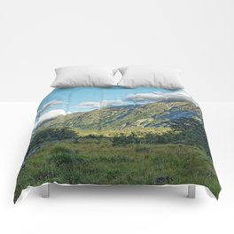 Monkey Creek, New Zealand Landscape Comforters