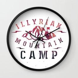 Illyrian War Camp Wall Clock
