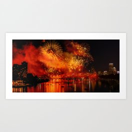 HAPPY BIRTHDAY, USA Art Print