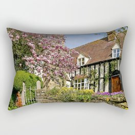 Colourful Spring Rectangular Pillow