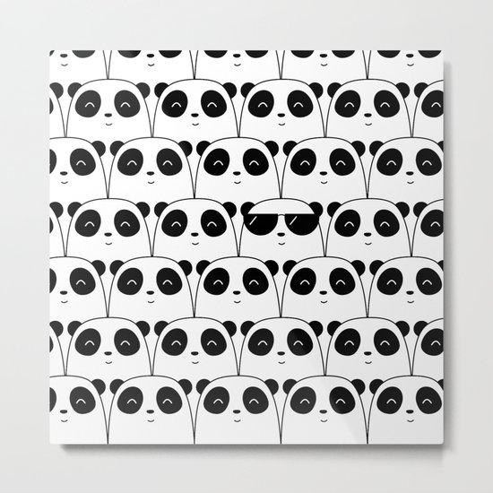 That Cool Panda Metal Print