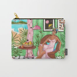 Summer in Byron Bay - Frida collection - Carry-All Pouch