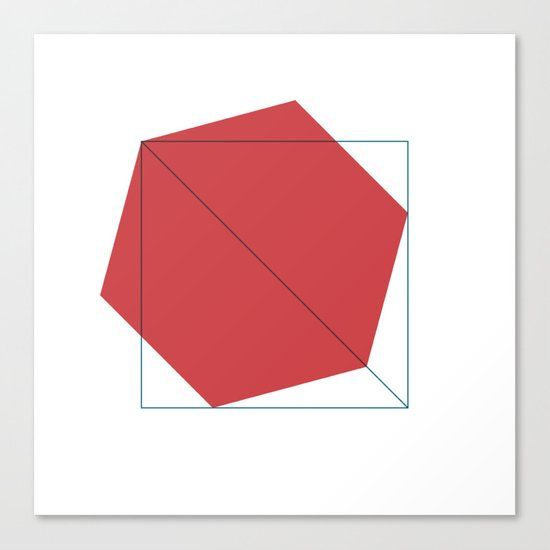 #403 Untitled – Geometry Daily Canvas Print