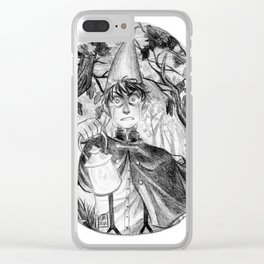 Lost Wirt Clear iPhone Case