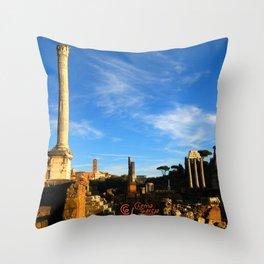 Foro Romano Throw Pillow