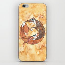 Aesop's Fable: The Hare And The Hound iPhone Skin