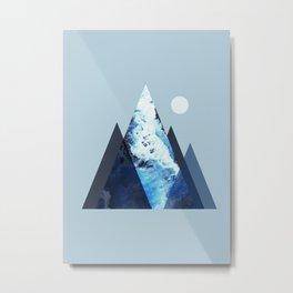 Sea Mountain Metal Print