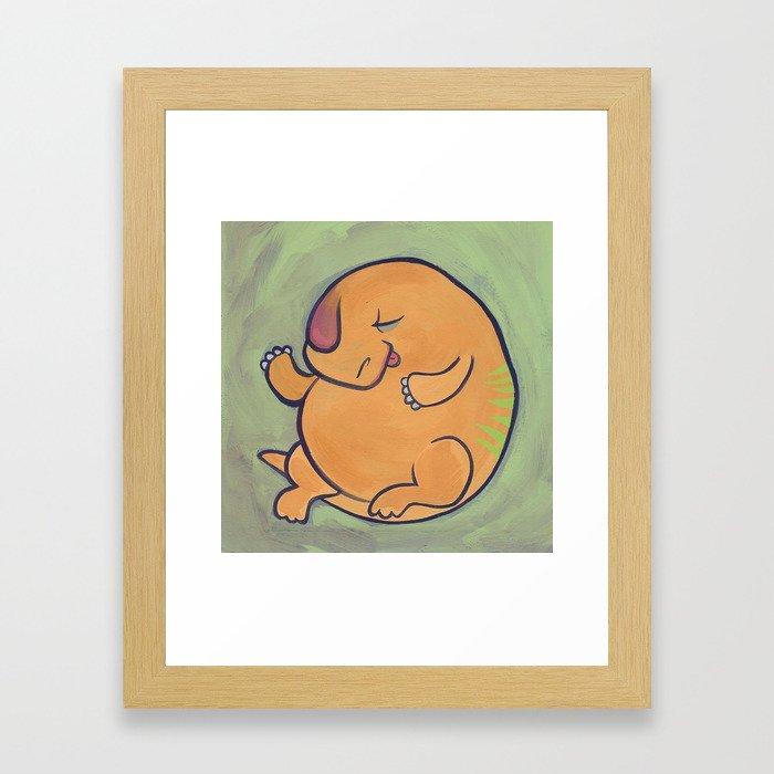Beh-beh Framed Art Print