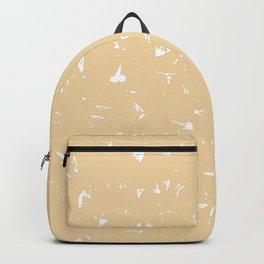 Apricot Gelato Splatter Spots Backpack