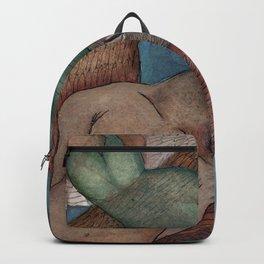 Flying together lovers Backpack