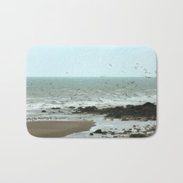 Calais beach, French. Bath Mat