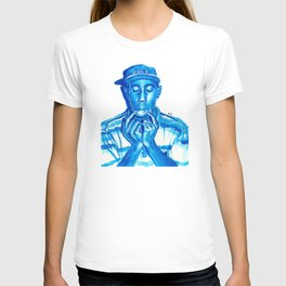 Tyler blue T-shirt