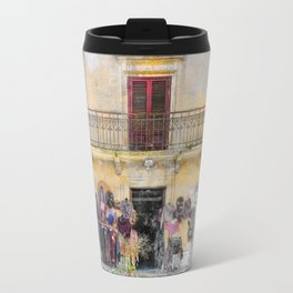 Erice art 1 Travel Mug